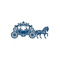 (ACD231)Tattered Lace Lace Carriage
