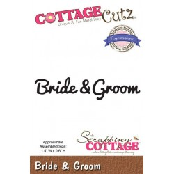 (CCX-047)Scrapping Cottage Expressions Bride & Groom