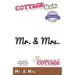 (CCX-054)Scrapping Cottage Expressions Mr. & Mrs.