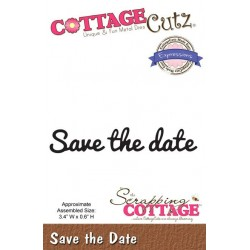 (CCX-055)Scrapping Cottage Expressions Save the Date