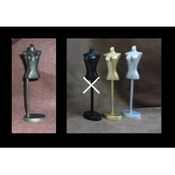 Bust 15 cm black pattern Amanda Yeh