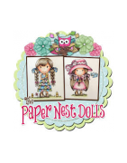 Stamp Paper Nest Dolls