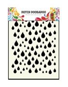 Stencil Dutch DooBaDoo