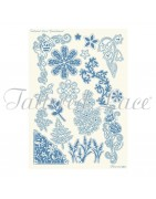 Grids Parchment Lace