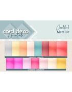 Card Deco Metallic Cardstock